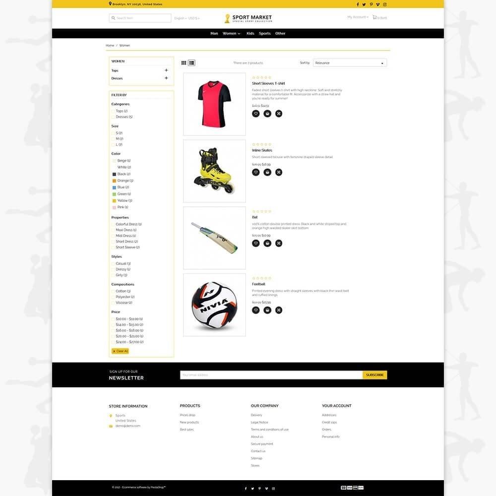 theme - Sport, Activiteiten & Reizen - Sport Market - 4