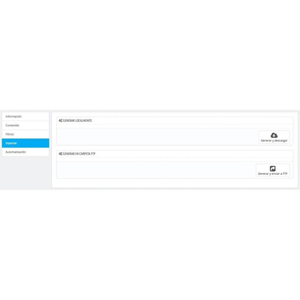 module - Importación y Exportación de datos - Exportar Factura–Comprobante de Crédito(CRON/FTP/EMAIL) - 5