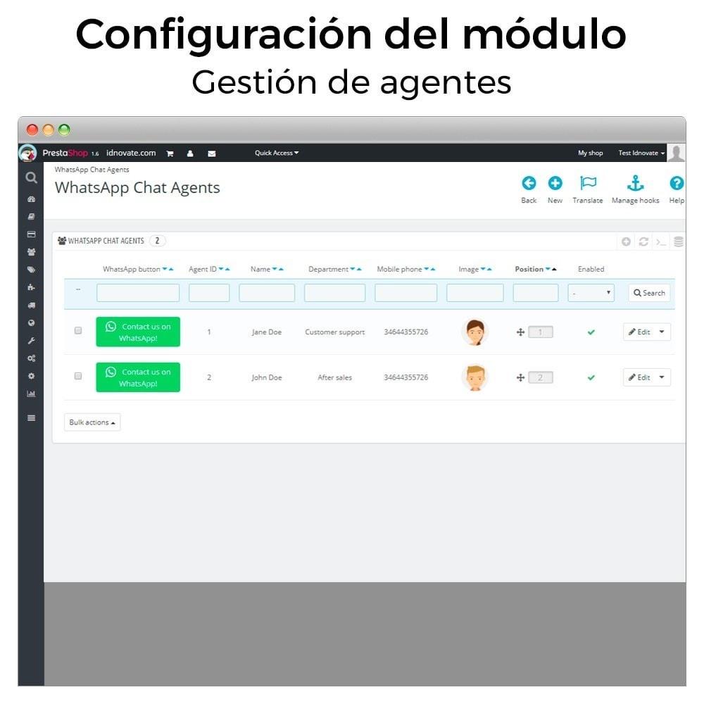 module - Asistencia & Chat online - WhatsApp - Chat con clientes - WhatsApp para Negocios - 20