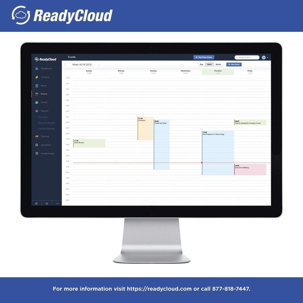 module - Third-party Data Integration (CRM, ERP...) - ReadyCloud E-Commerce CRM Software - 5