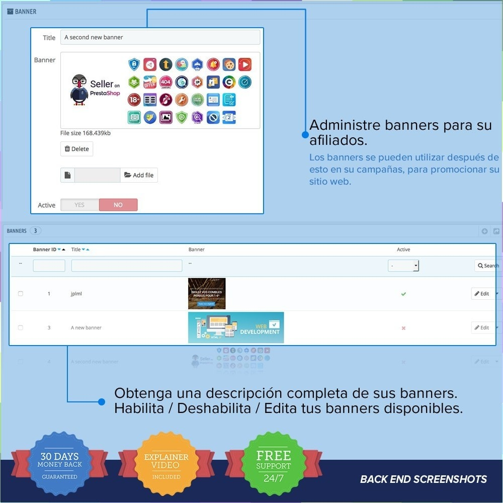 bundle - SEM SEA - Posicionamiento patrocinado & Afiliación - Marketing Pack - Affiliate, Newsletter,PushNotification - 18