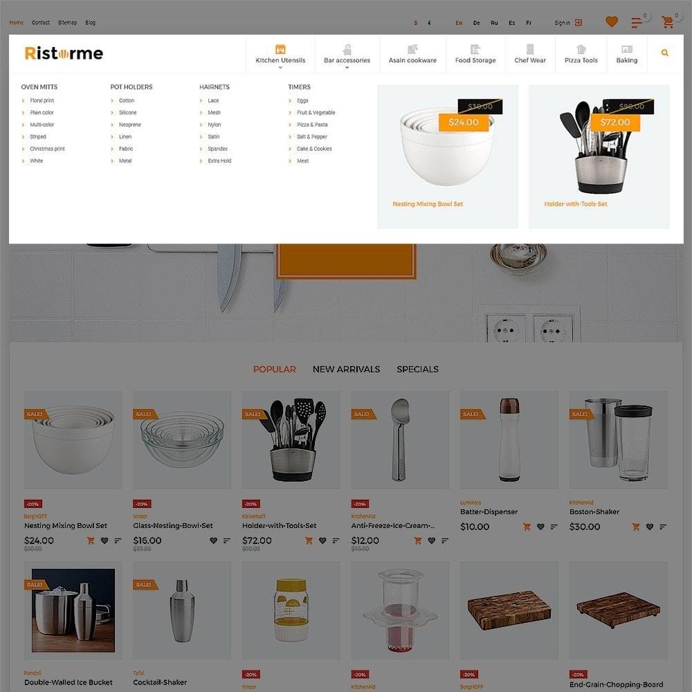 theme - Искусство и Культура - Ristorme - Restaurant Equipment & Houseware - 5