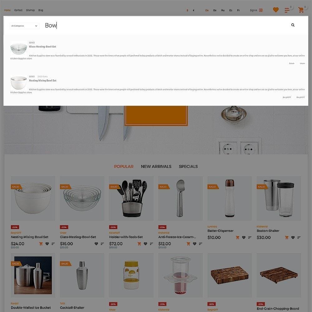 theme - Продовольствие и рестораны - Ristorme - Restaurant Equipment & Houseware - 7