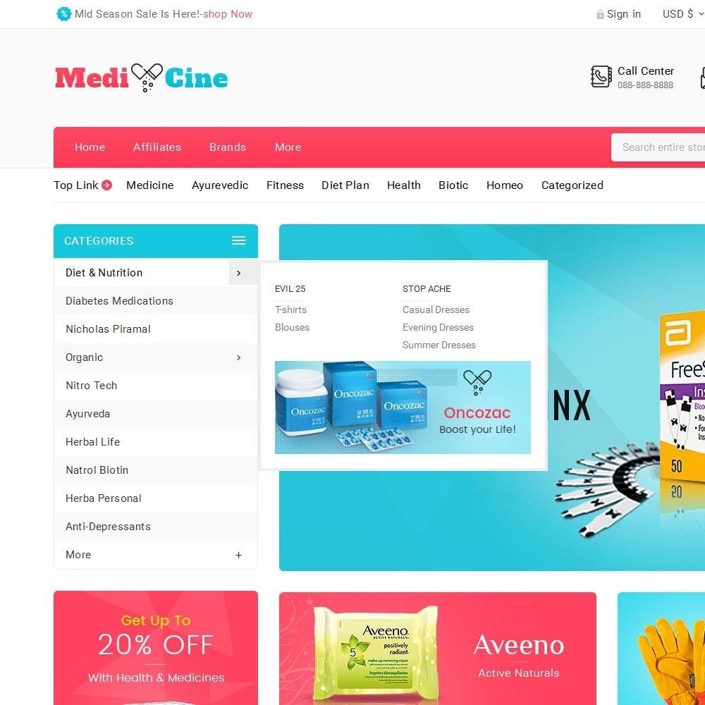 theme - Gezondheid & Schoonheid - Medicine Mega Store - 9
