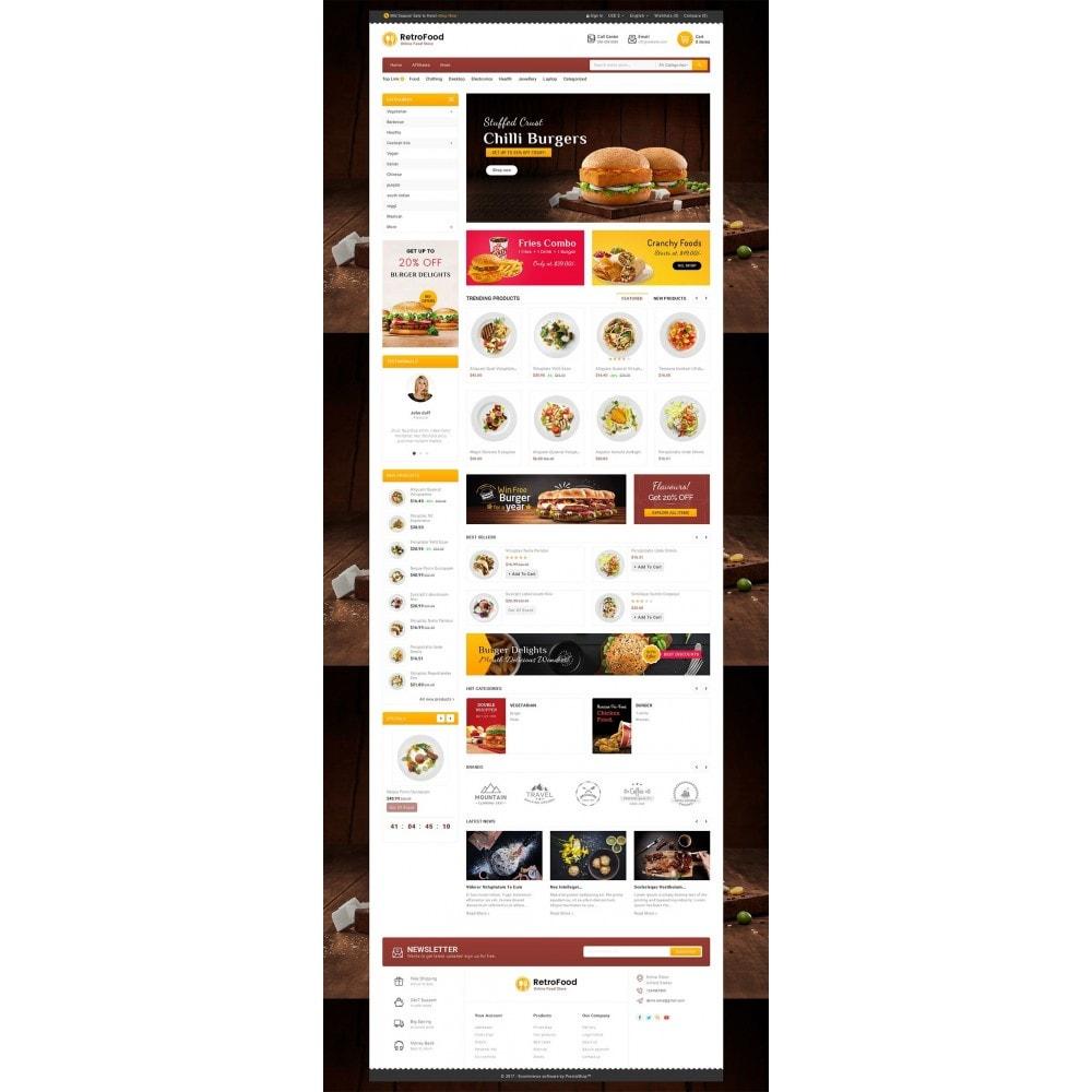 theme - Alimentos & Restaurantes - Fast Foods Mega Store - 2