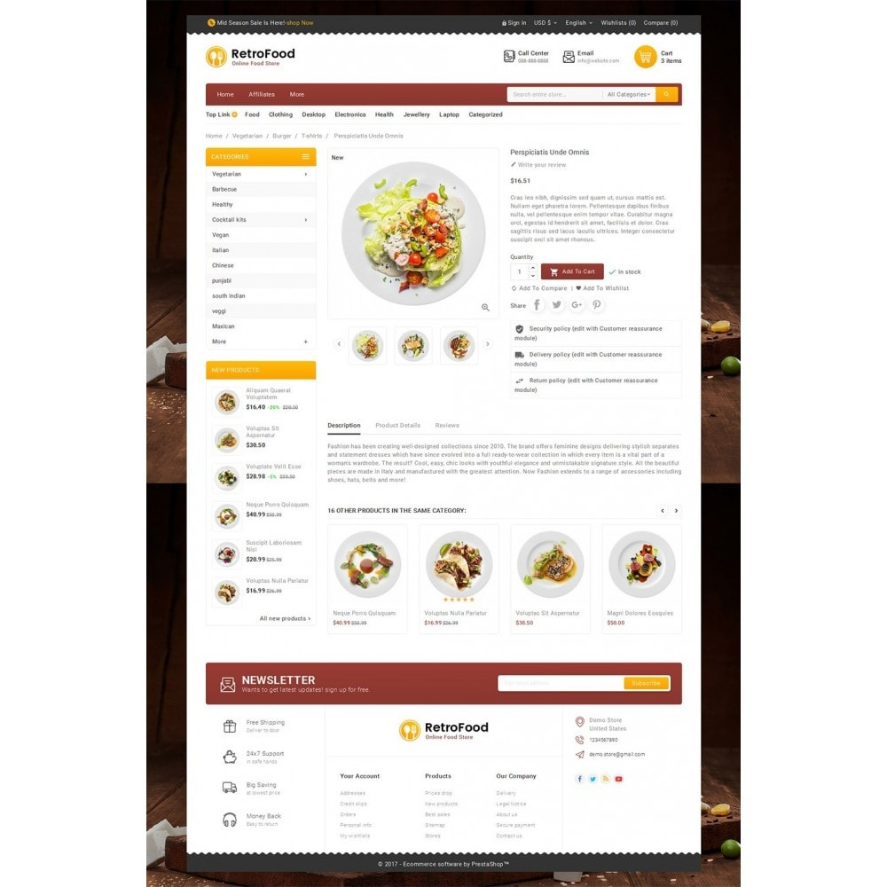 theme - Alimentos & Restaurantes - Fast Foods Mega Store - 5