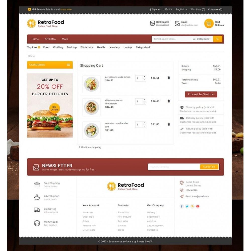 theme - Alimentos & Restaurantes - Fast Foods Mega Store - 6