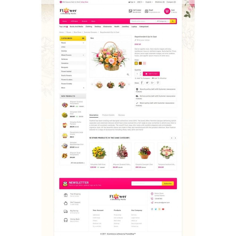 theme - Presentes, Flores & Comemorações - Blooming Flower Mega Store - 5
