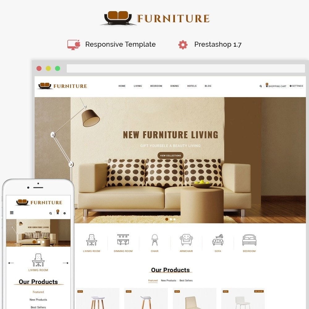 theme - Casa & Jardins - Furniture Store - 1