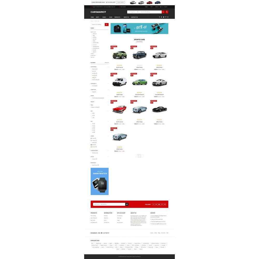 theme - Auto's & Motoren - Automotive & Cars - Supermarket - 3