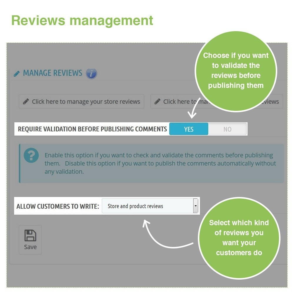 module - Customer Reviews - Store Reviews + Product Reviews + Google Rich Snippets - 34