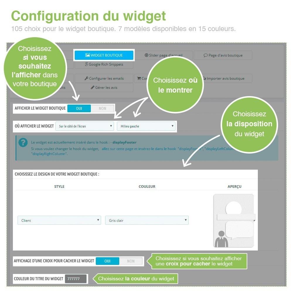 module - Avis clients - Avis Boutique + Avis Produits + Google Rich Snippets - 4