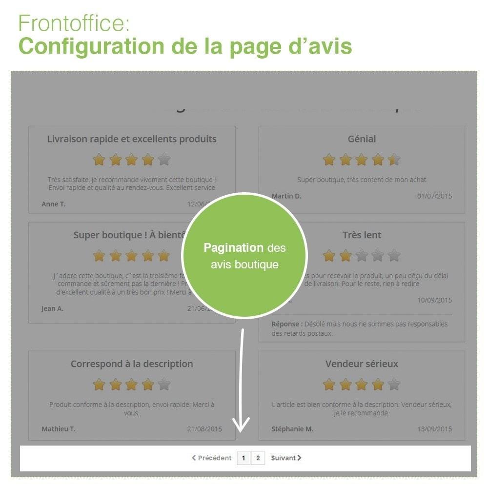 module - Avis clients - Avis Boutique + Avis Produits + Google Rich Snippets - 11