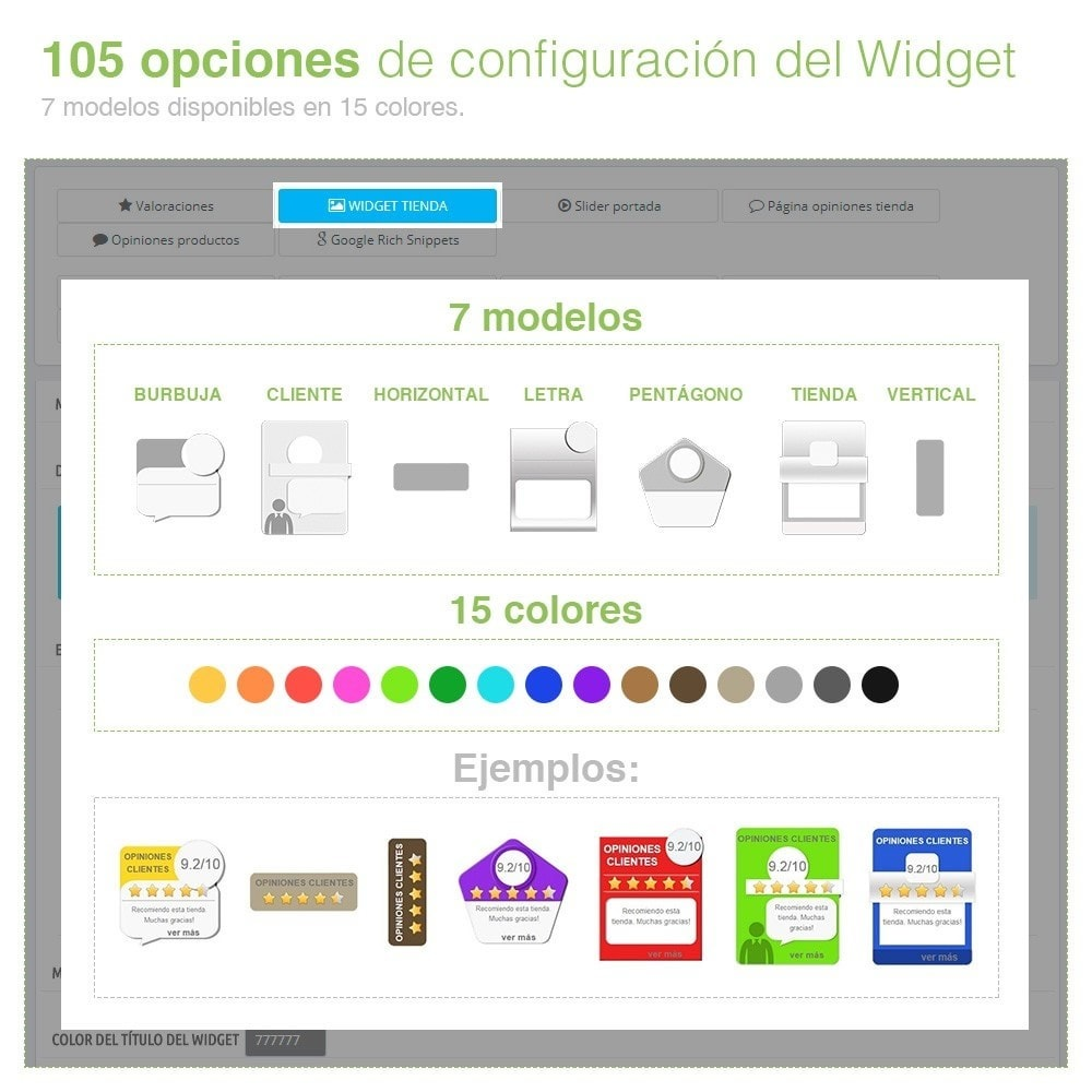 module - Comentarios de clientes - Opiniones Tienda + Opiniones Productos + Rich Snippets - 4
