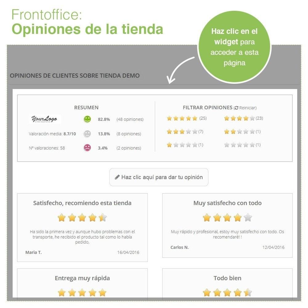 module - Comentarios de clientes - Opiniones Tienda + Opiniones Productos + Rich Snippets - 8