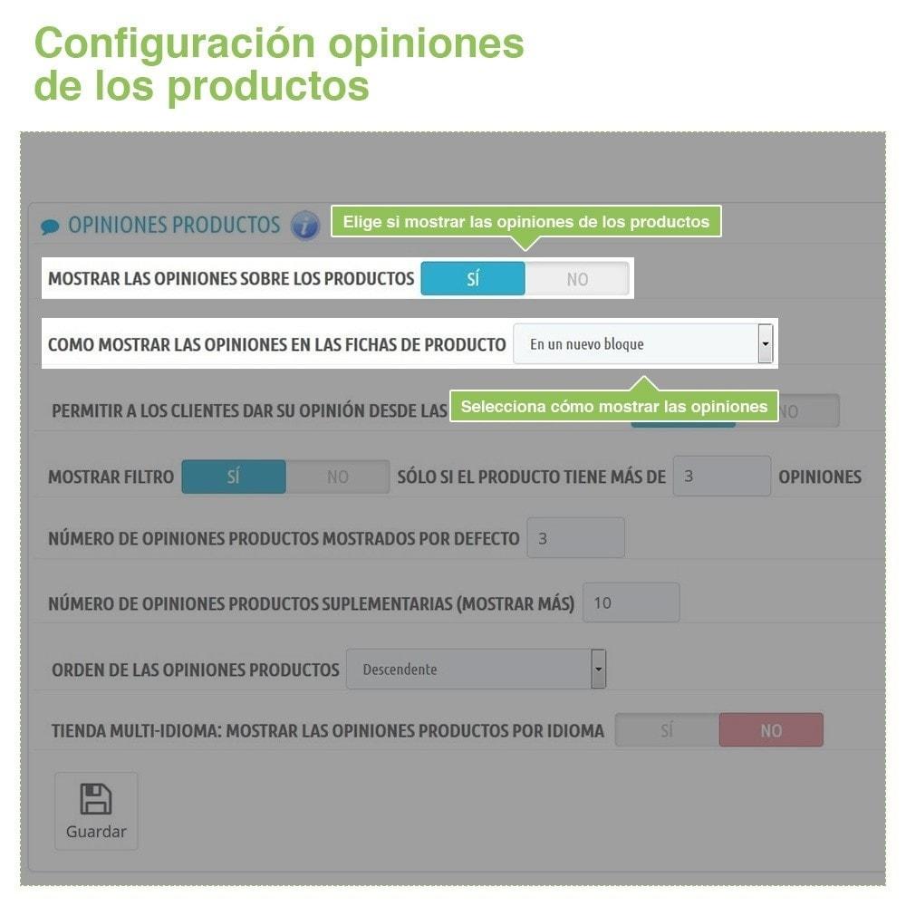module - Comentarios de clientes - Opiniones Tienda + Opiniones Productos + Rich Snippets - 13