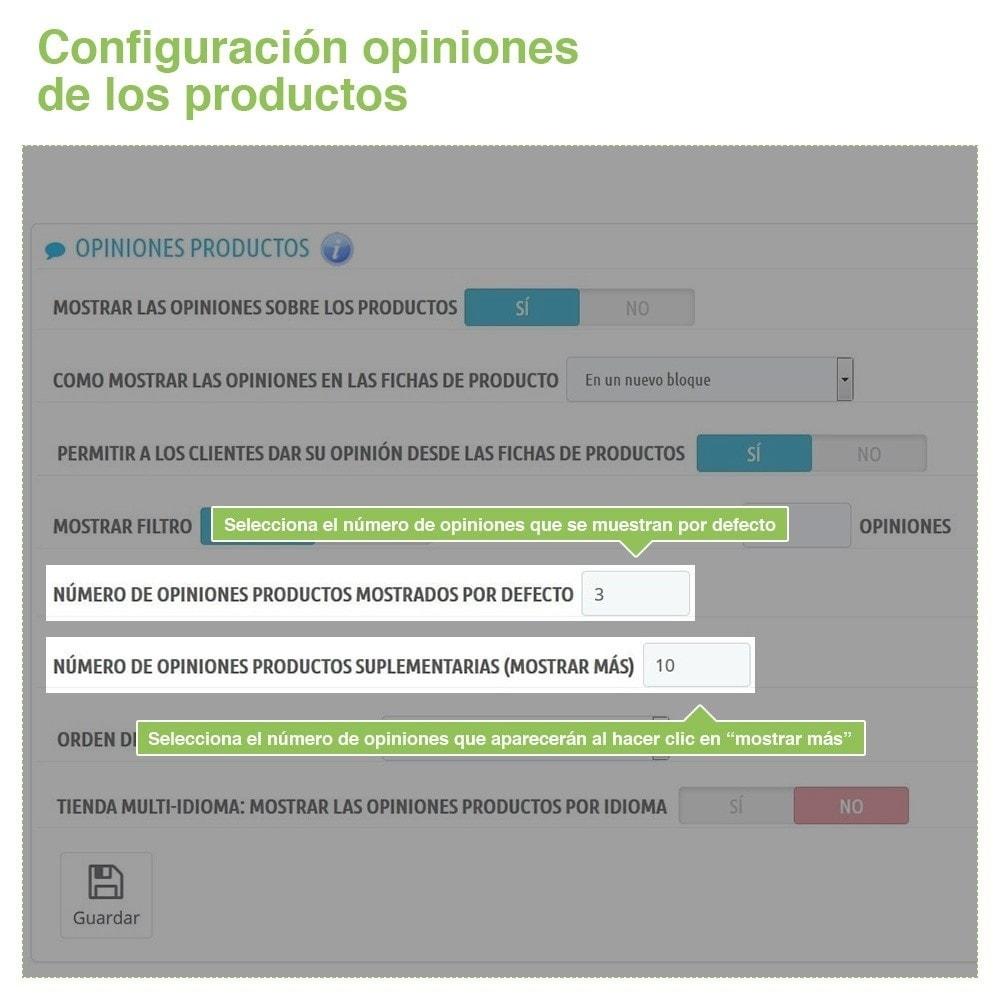 module - Comentarios de clientes - Opiniones Tienda + Opiniones Productos + Rich Snippets - 15