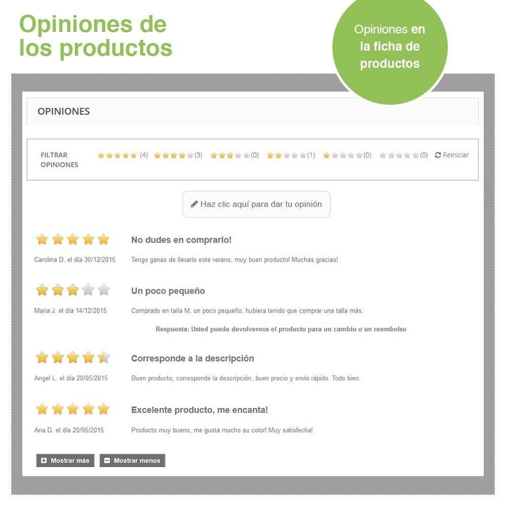 module - Comentarios de clientes - Opiniones Tienda + Opiniones Productos + Rich Snippets - 20