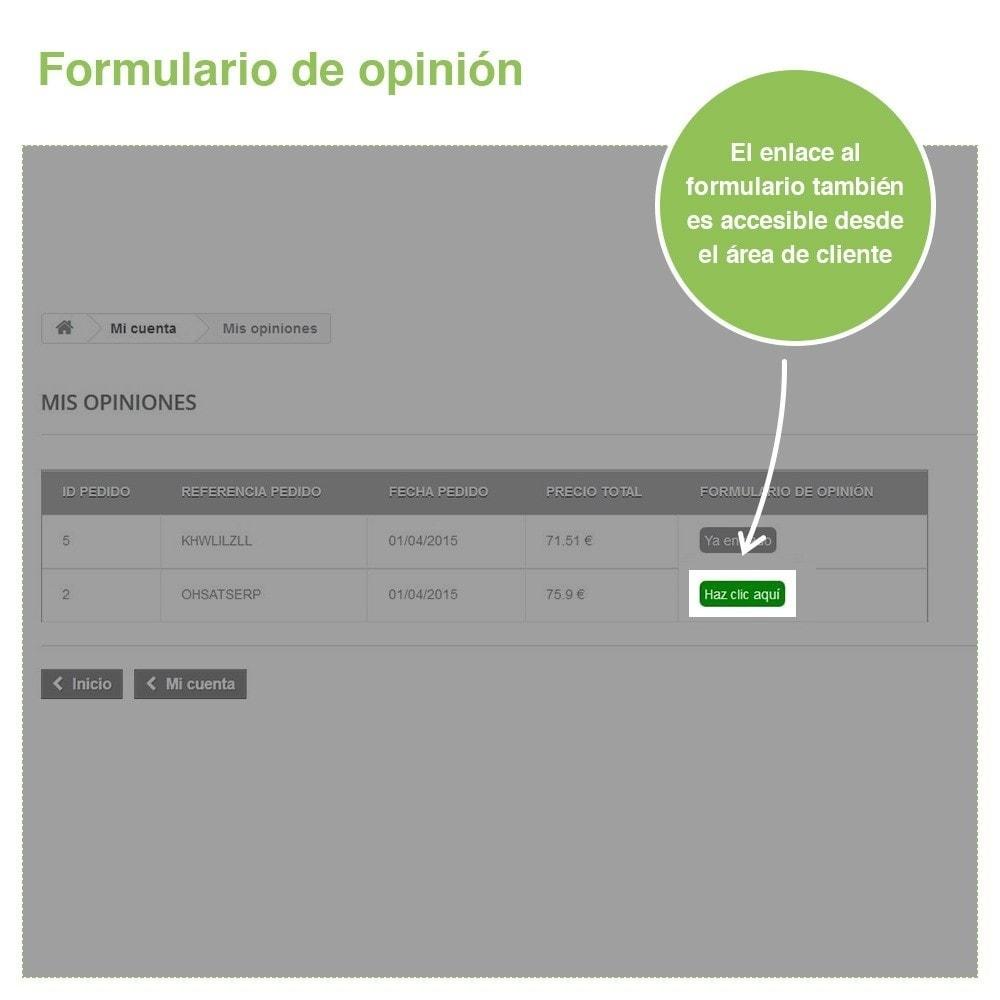 module - Comentarios de clientes - Opiniones Tienda + Opiniones Productos + Rich Snippets - 31