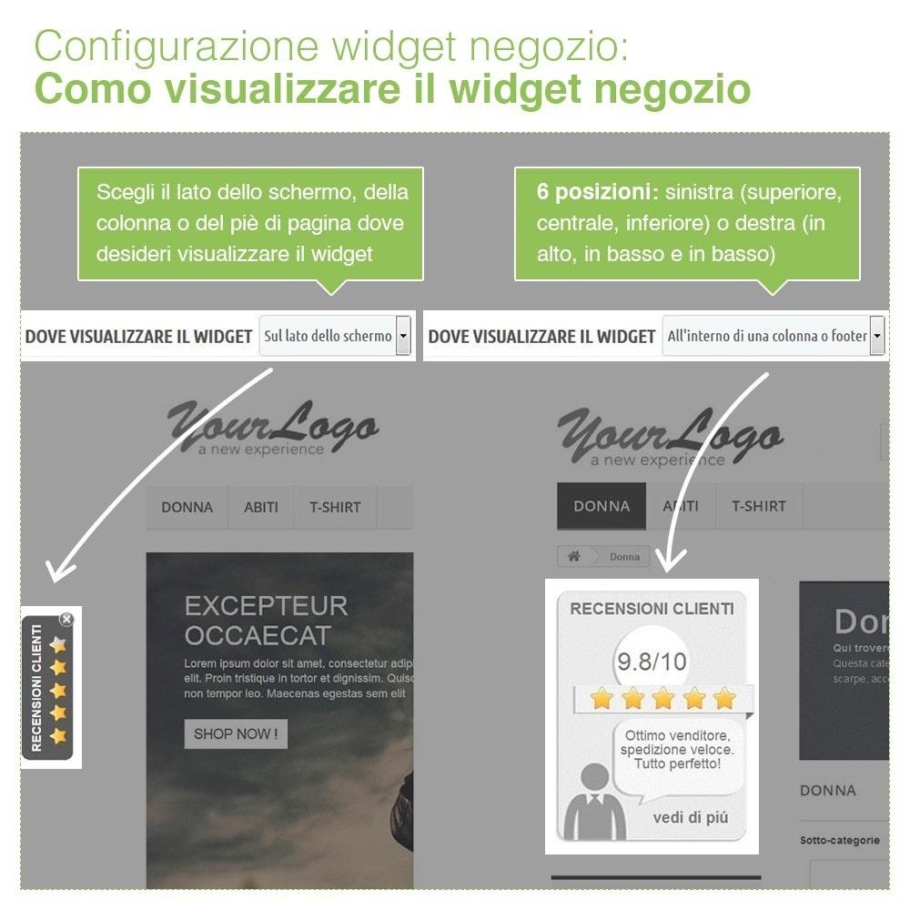 module - Recensioni clienti - Recensioni Negozio + Recensioni Prodotti + Snippets - 6