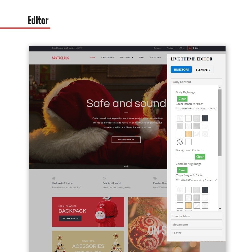 theme - Mode & Schoenen - Leo Santa Claus - 2