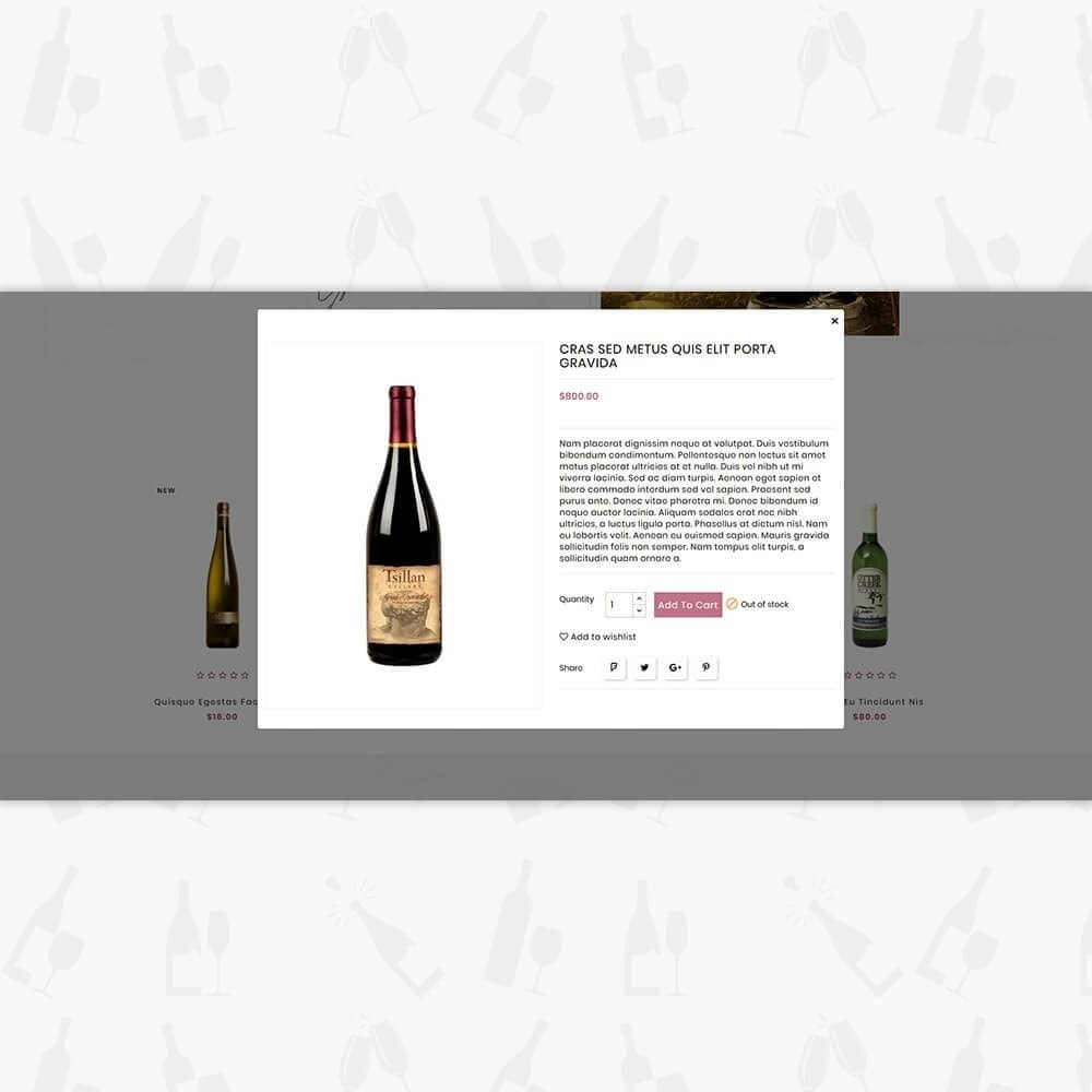 theme - Drink & Wine - Wine Club Store - 7