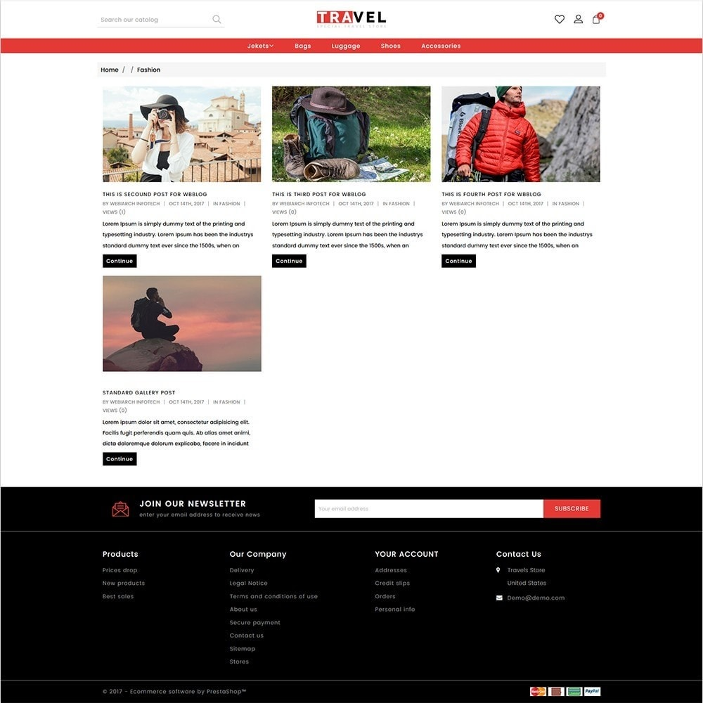 theme - Спорт и Путешествия - Travel - The Special Travel Store - 6