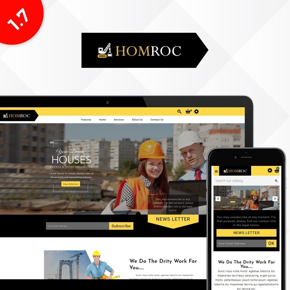 theme - Dom & Ogród - Homroc Construction Store - 1