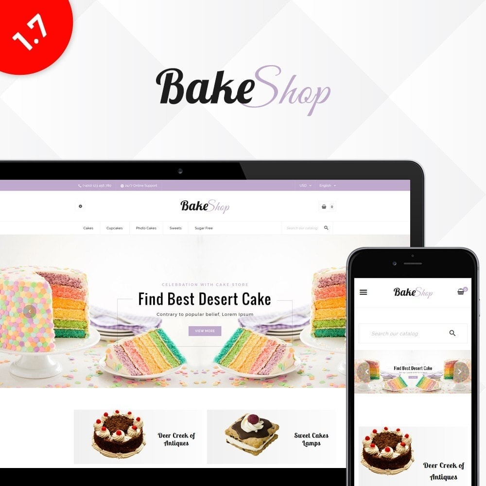 theme - Cibo & Ristorazione - Bake Shop - 1