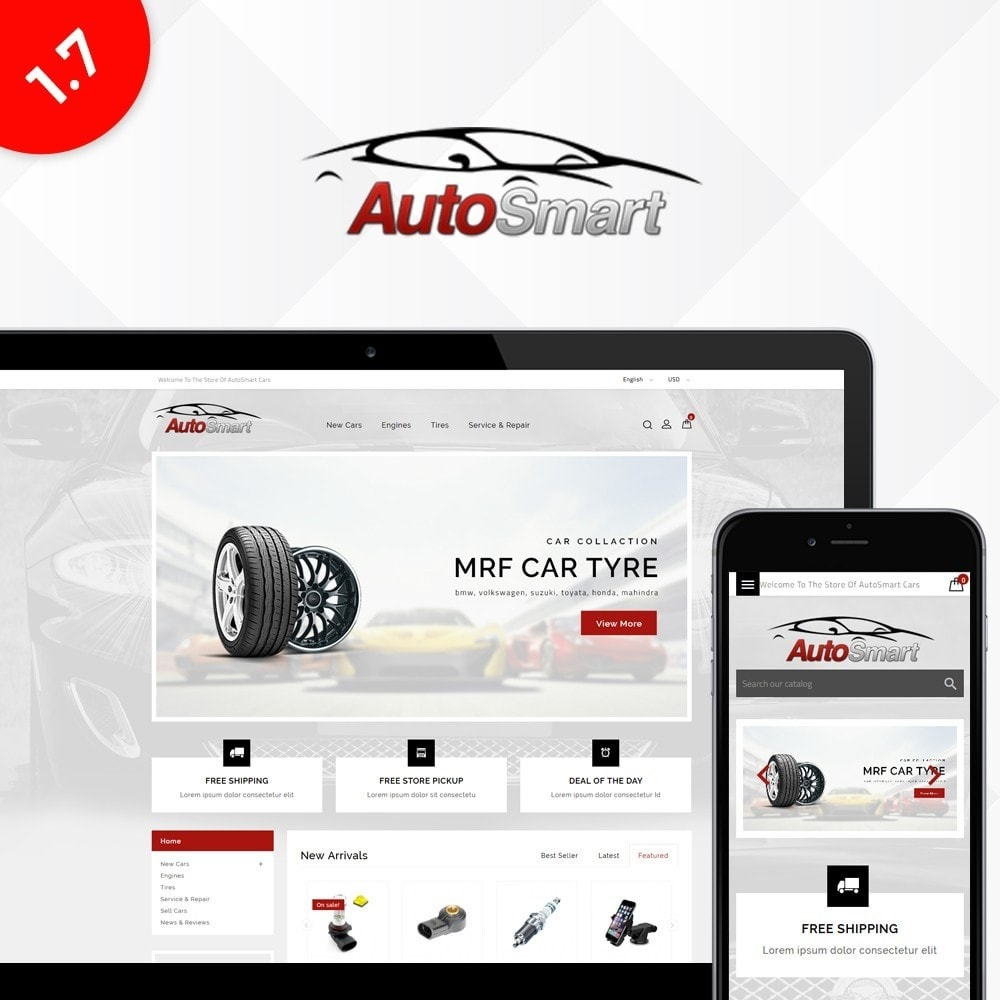 theme - Coches y Motos - Auto smart store - 1