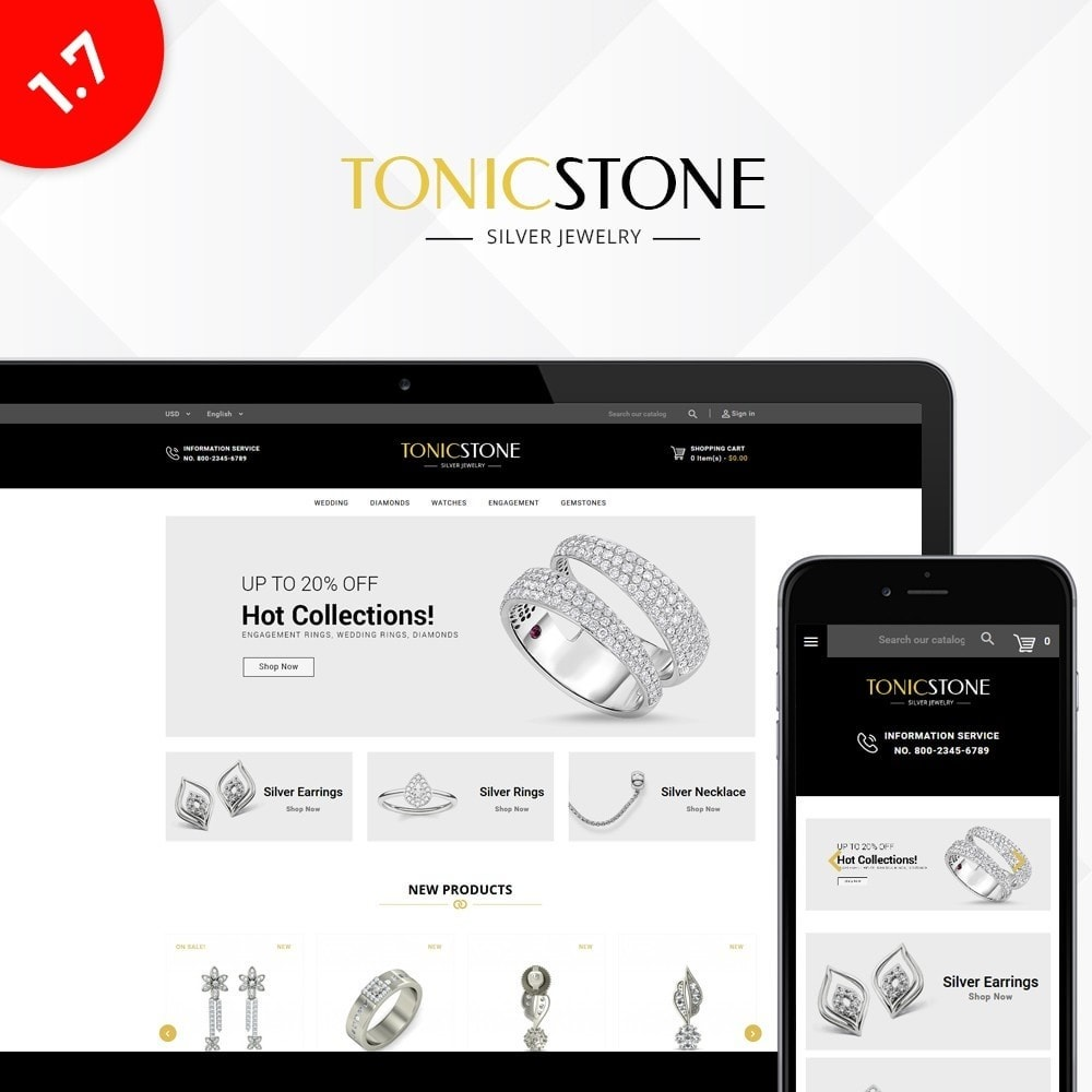 theme - Jewelry & Accessories - Tonic Store - 1