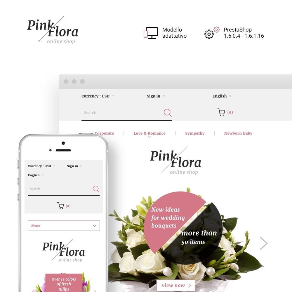 theme - Regali, Fiori & Feste - Pink Flora - 1