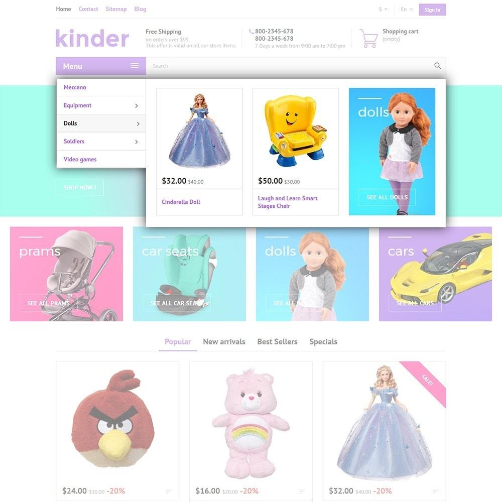 theme - Crianças & Brinquedos - Kinder - 5