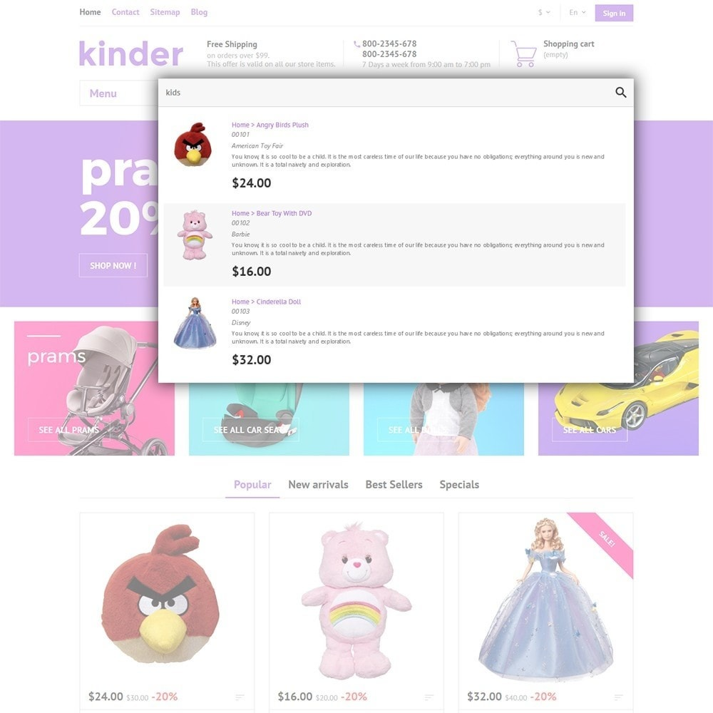 theme - Kids & Toys - Kinder - 6