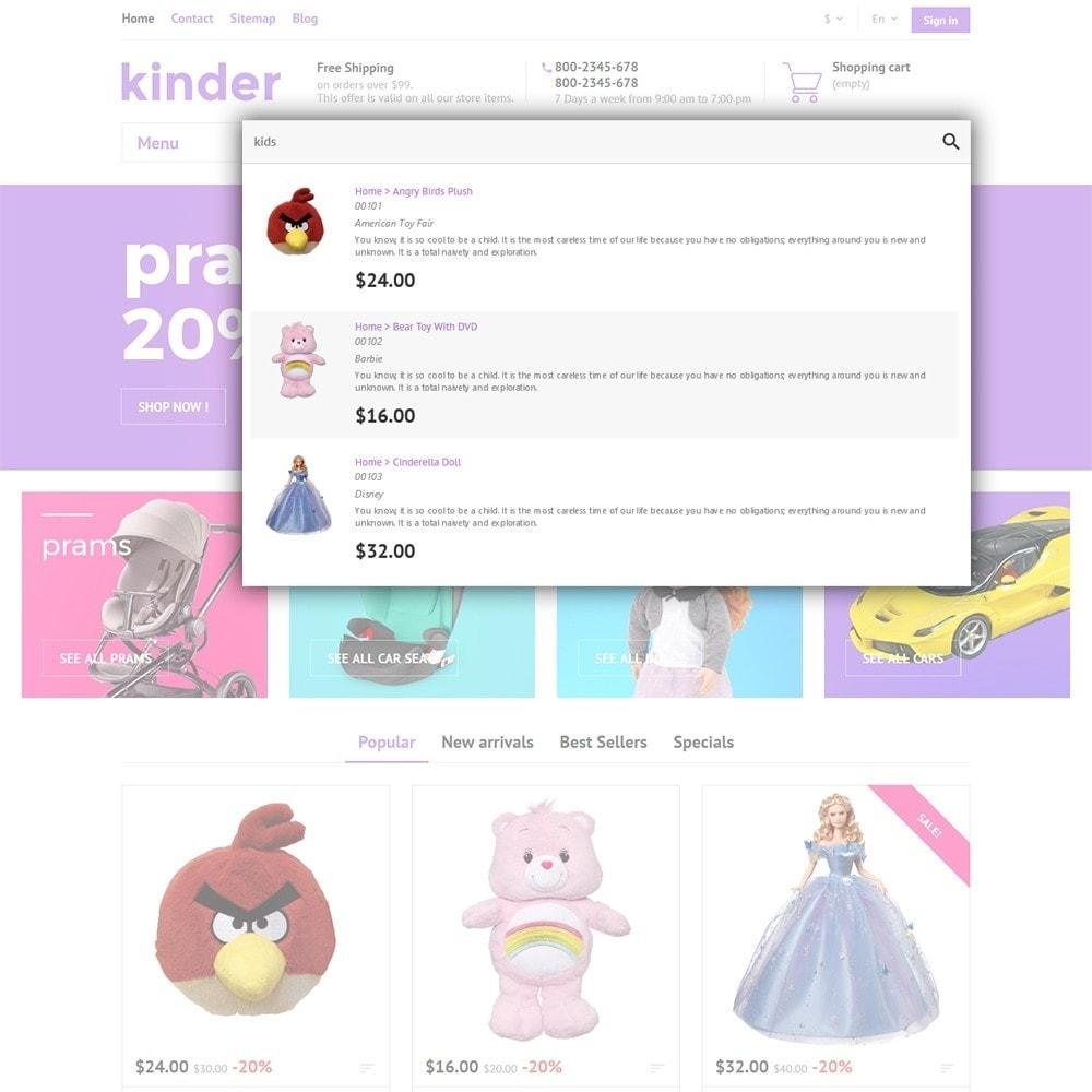 theme - Дети и Игрушки - Kinder - 7
