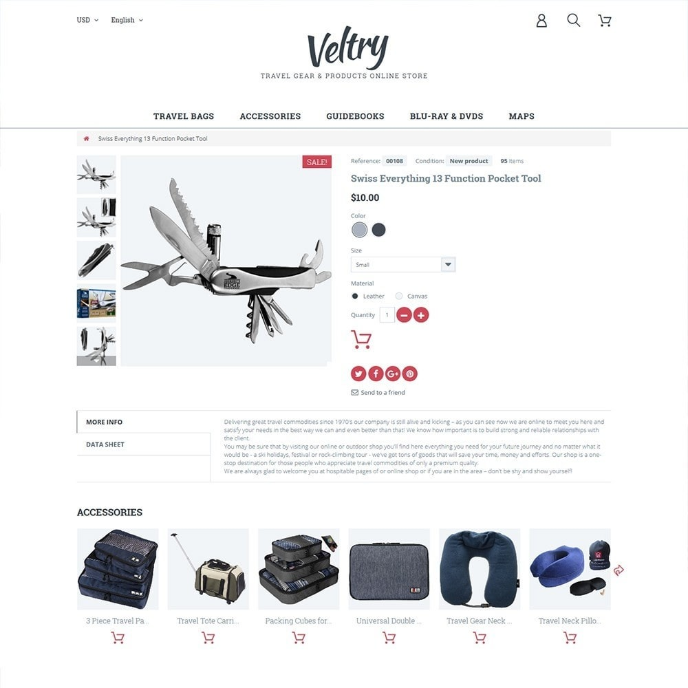 theme - Sport, Aktivitäten & Reise - Veltry - 3