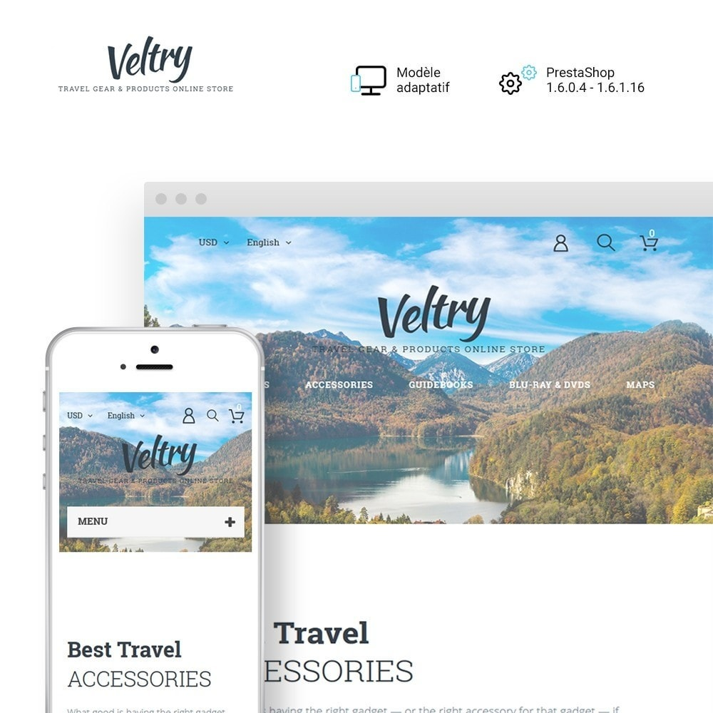 theme - Sport, Loisirs & Voyage - Veltry - 1