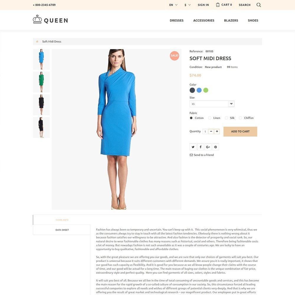 theme - Мода и обувь - Queen - Womens Clothes - 3