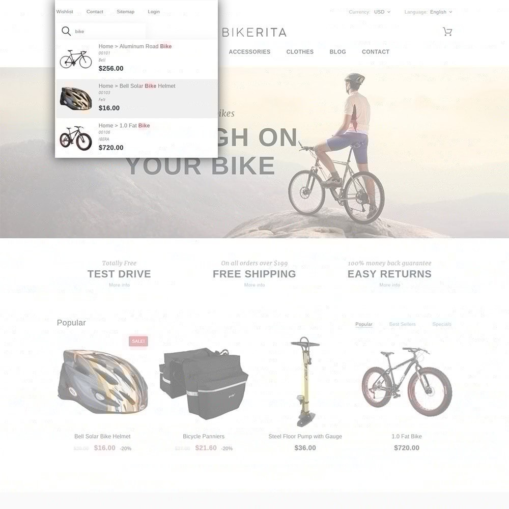 theme - Sports, Activities & Travel - Bikerita - 6