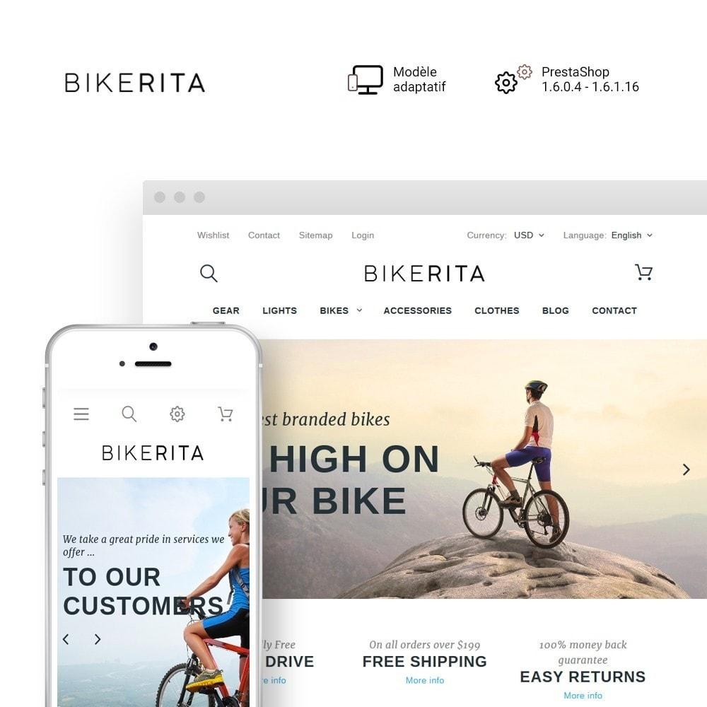 theme - Sport, Loisirs & Voyage - Bikerita - 1