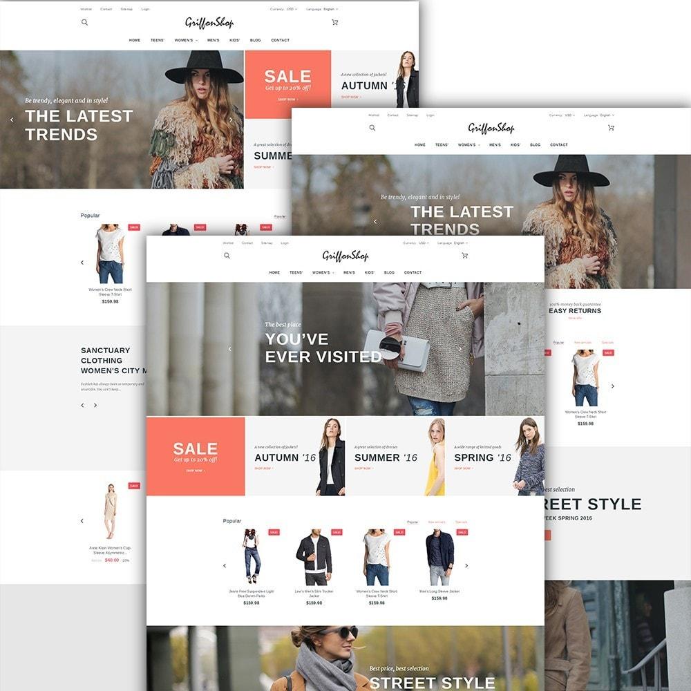 theme - Moda & Calçados - Griffon Shop - Apparel - 2