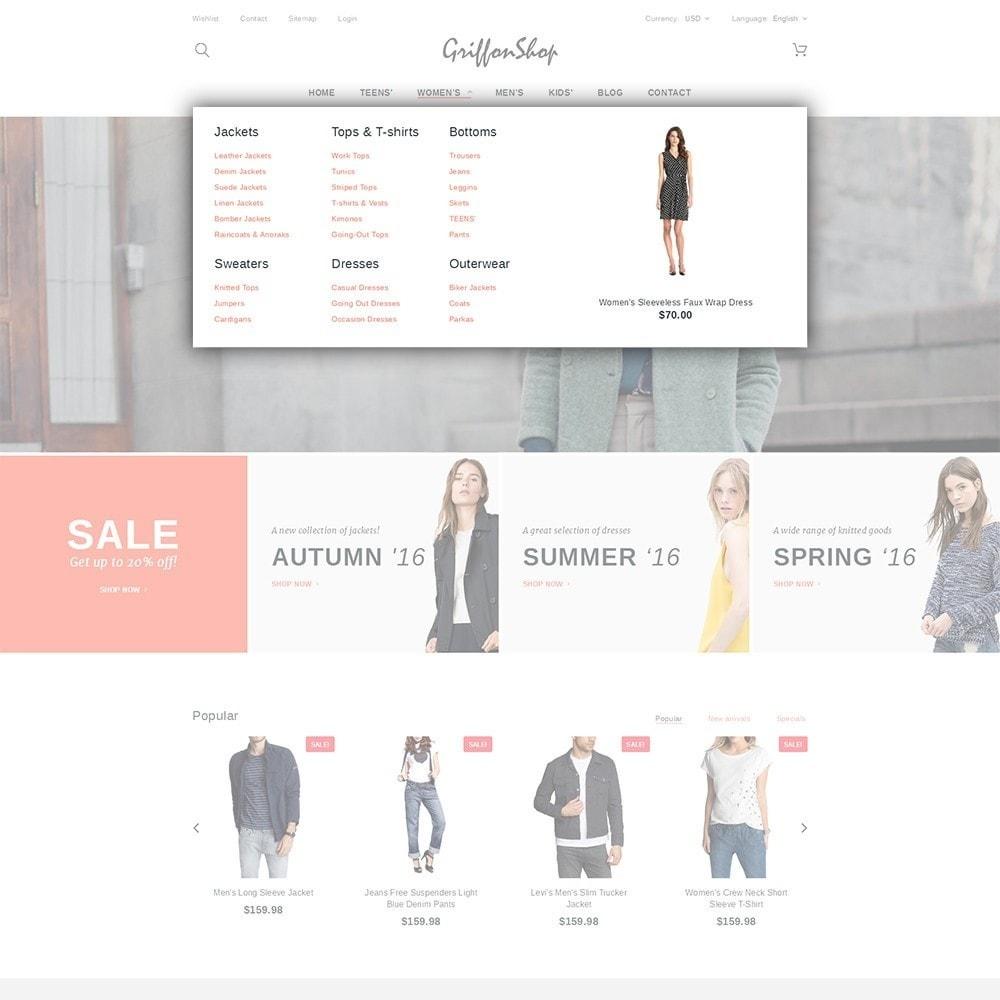 theme - Moda & Calzature - Griffon Shop - Apparel - 5