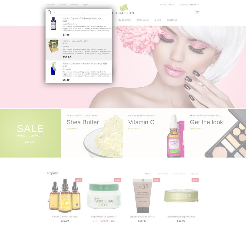 theme - Salute & Bellezza - Cosmeton - Skin Care - 6