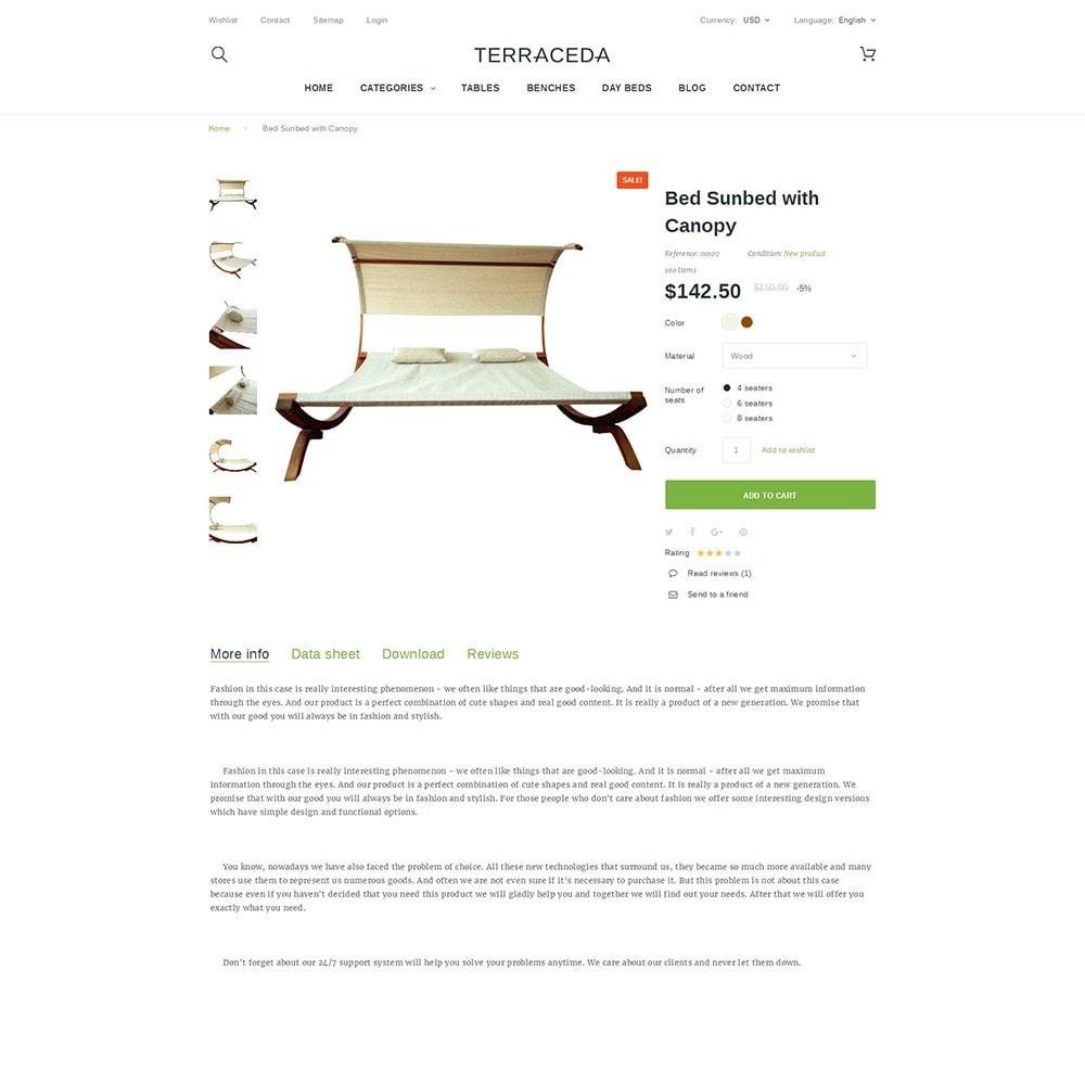 theme - Art & Culture - Terraceda - pour site de meubles - 3