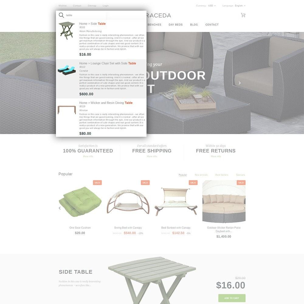 theme - Art & Culture - Terraceda - pour site de meubles - 6