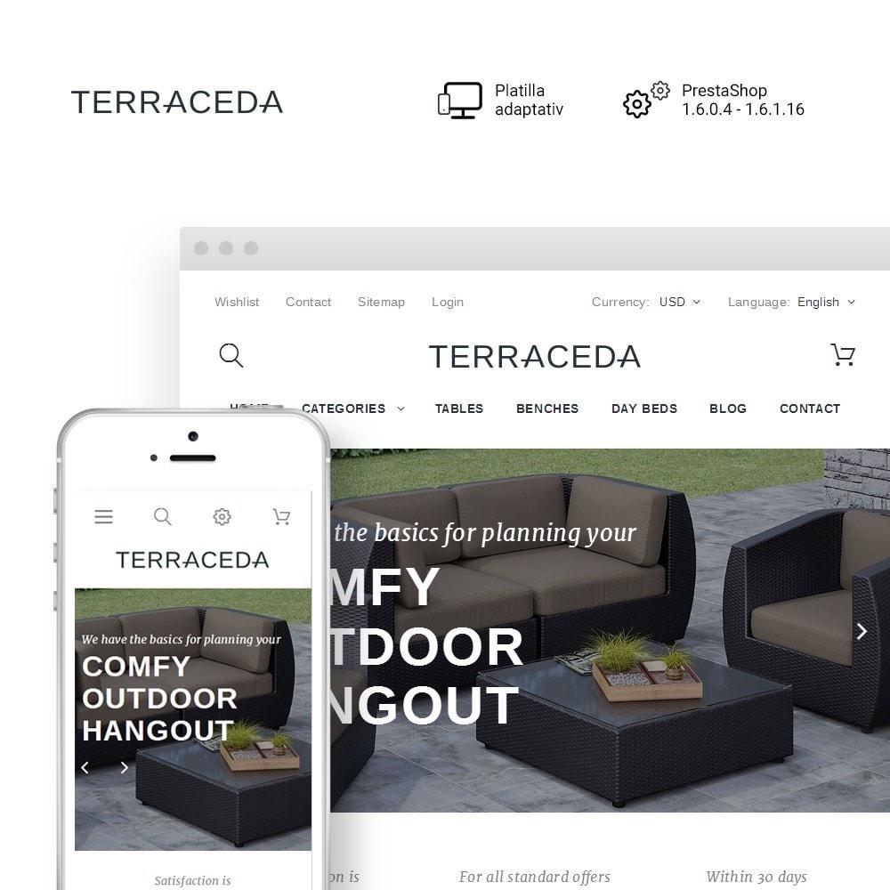 theme - Arte y Cultura - Terraceda - para Sitio de Muebles - 1