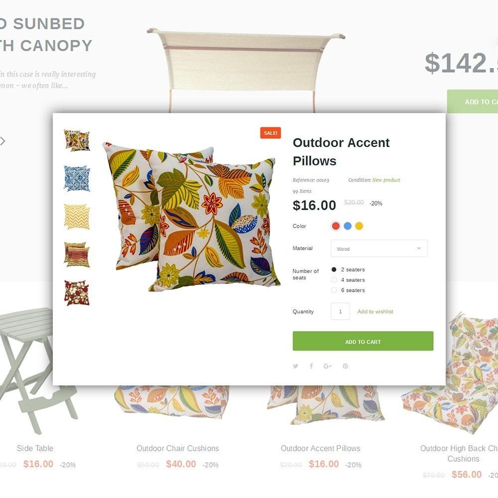 theme - Arte y Cultura - Terraceda - para Sitio de Muebles - 4