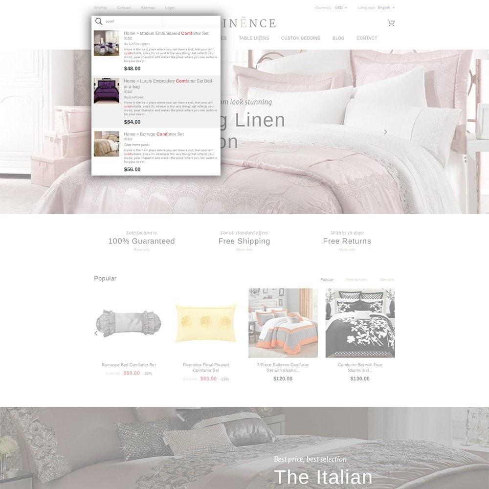theme - Casa & Jardins - Linence - Bed Linen - 6