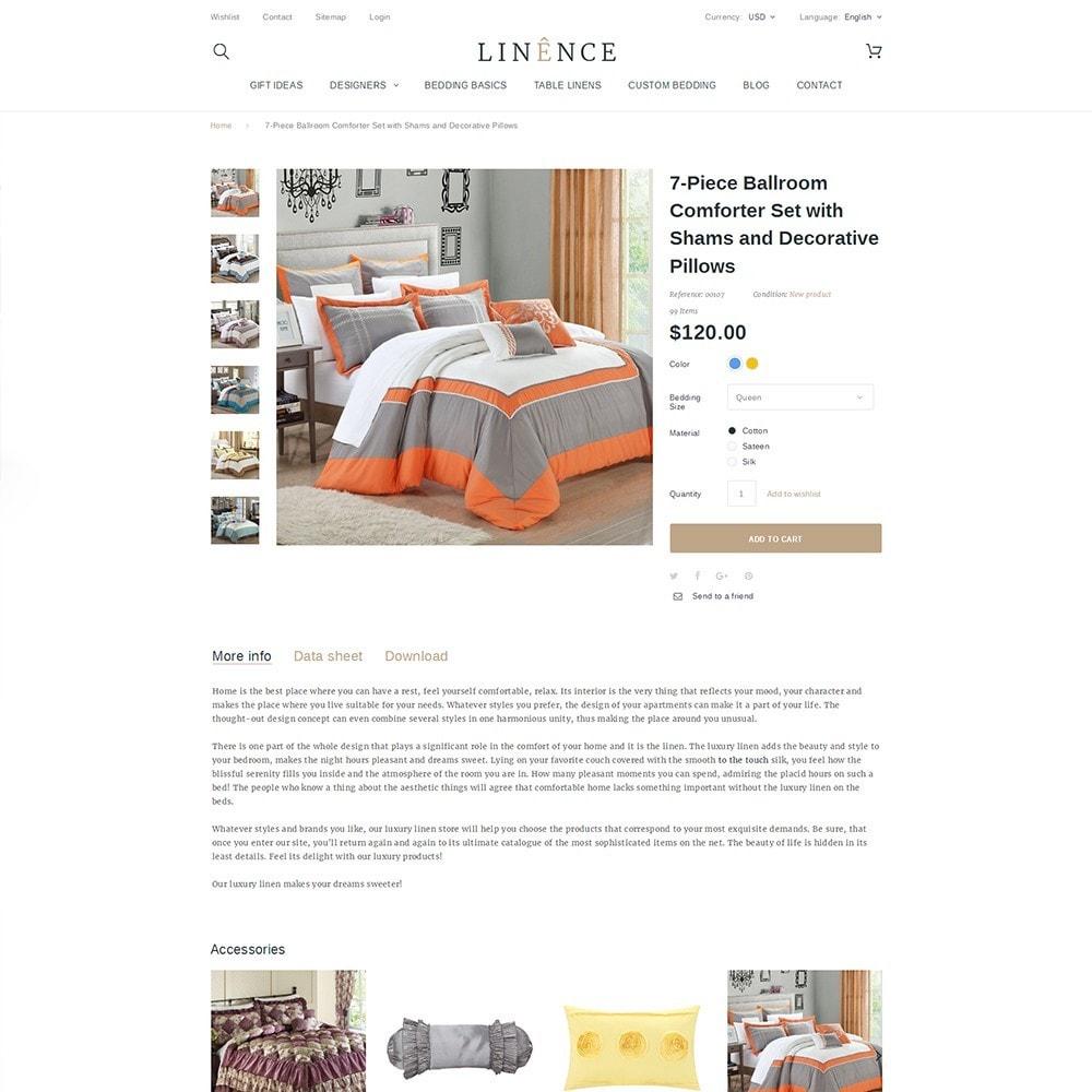 theme - Maison & Jardin - Linence - Bed Linen - 3