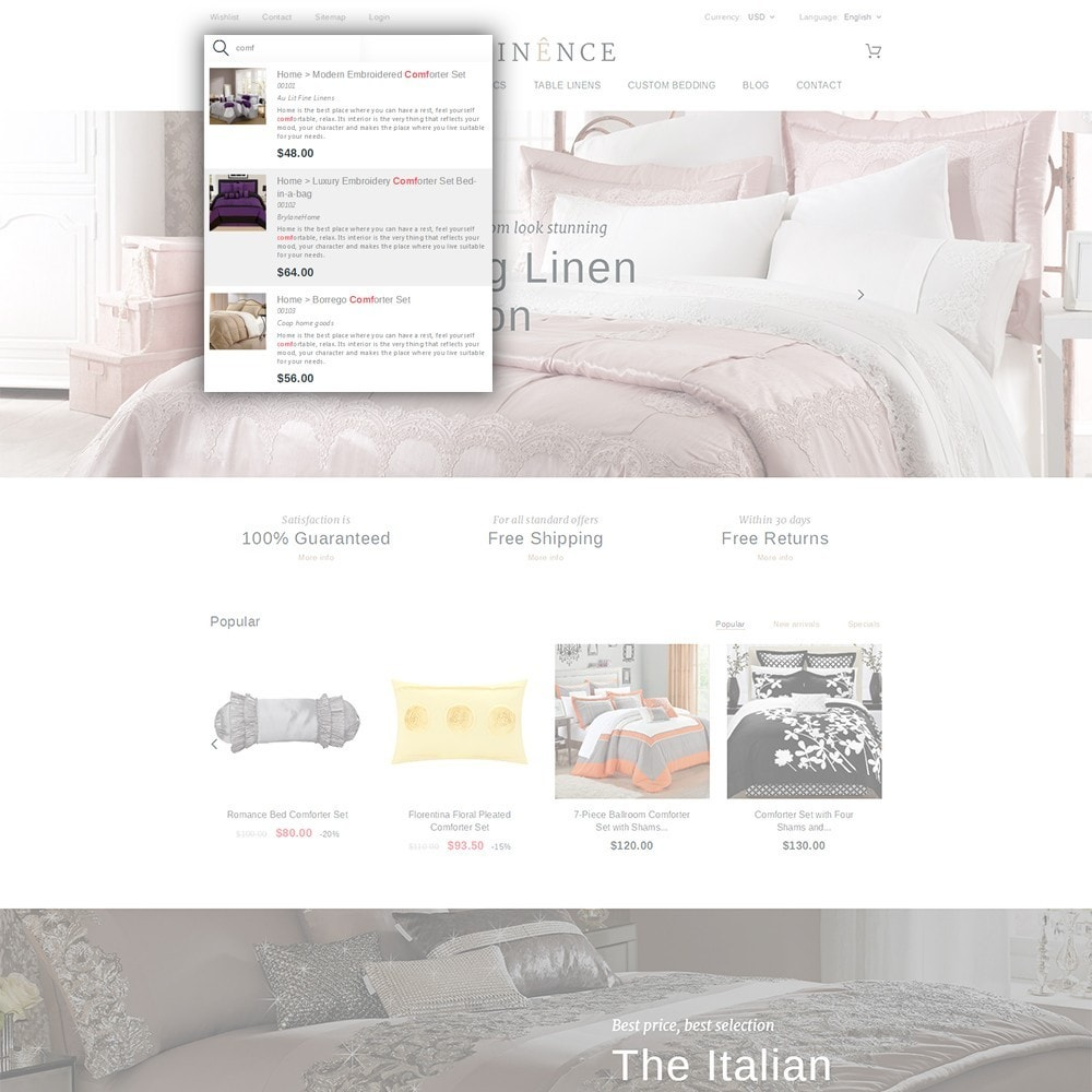 theme - Дом и сад - Linence - Bed Linen - 6